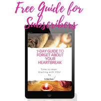 self help guide, 7 Day Guide to Forget About Your Heartbreak, self help books